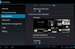 Inverted-Screen-Rendering