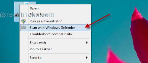 Windows-Defender-Scan-With-Option
