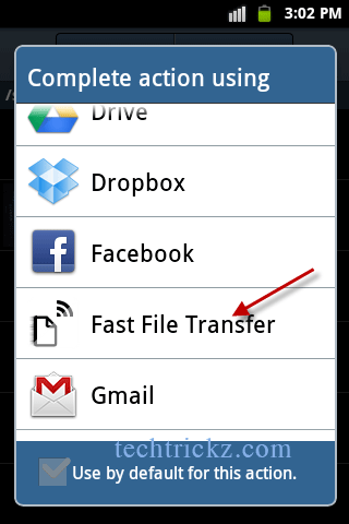 Fast-File-Transfer-option