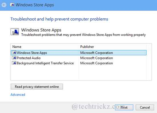 Windows-8-app-Troubleshooter