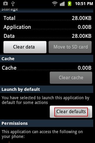 Andrroid-Default-App-Setting