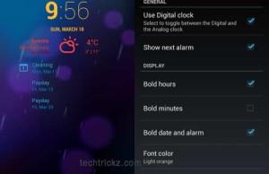 CyanogenMode-cLock-Widget