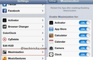 Maximization-for-iOS