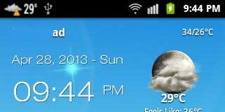 Android-Weather App