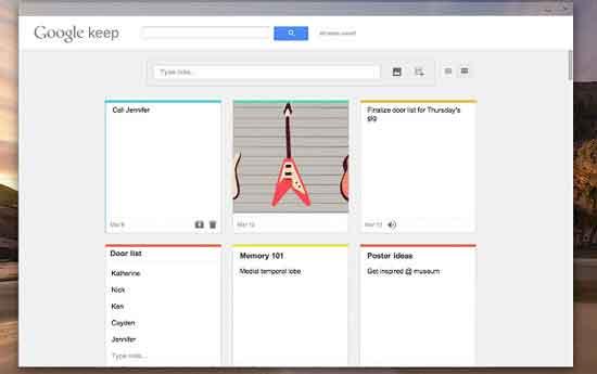 Google-Kepp-Chrome-App