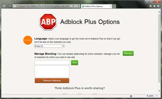 Adblock for Internet Explorer (IE) — How to remove ads in