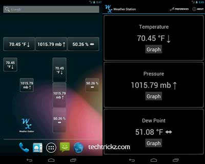 Weather-Station-for-Android