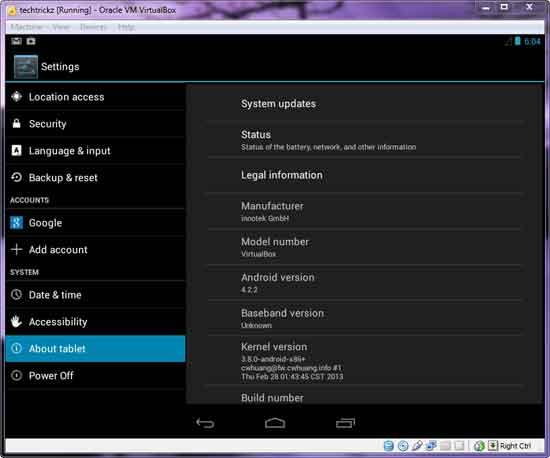 Android-running-on-windows