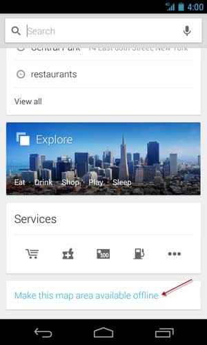 Google-Maps-Offline-Cache