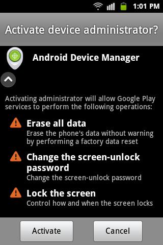 ADM-settings
