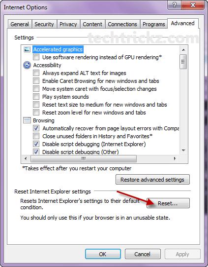 IE-Reset-Option