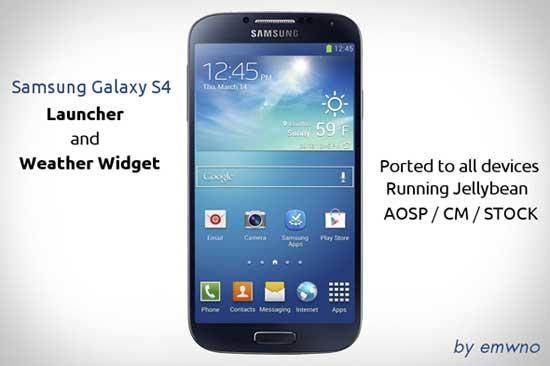 Galaxy-S4-Launcher