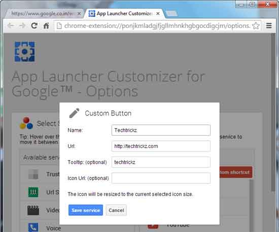 App-Launcher-Customizer