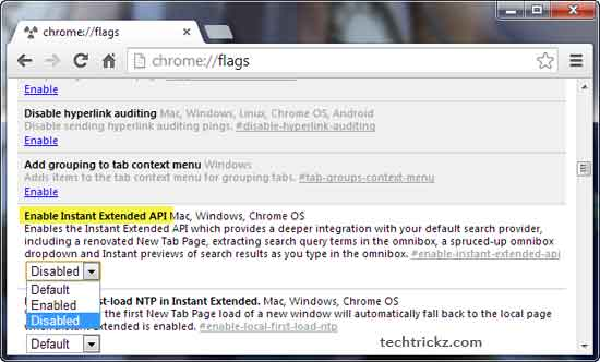 Chrome-Flags