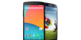 Nexus-5-vs-Galaxy-S4