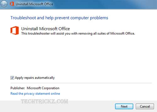 Uninstall-MS-Office