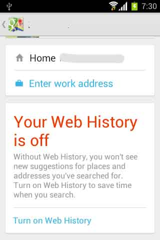 Maps-Web-history
