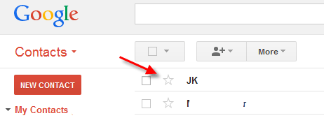 star-gmail-contacts