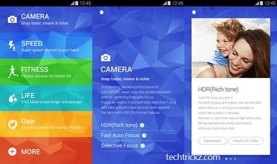 Galaxy-s5-experiance-app