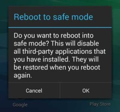 Safe-mode-on-android