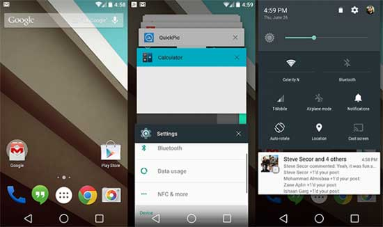 android l navigation bar