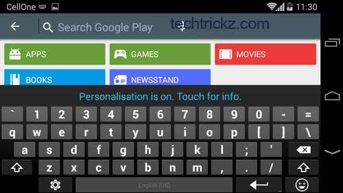 Google-Keyboard-with-Number-Row