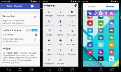 action-widget