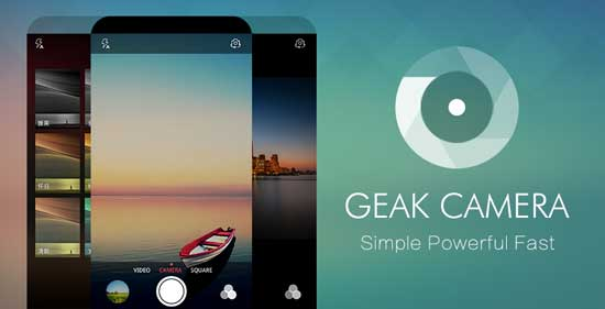 GEAK Camera: Fast and Lightweight Camera App for Android Phone ...