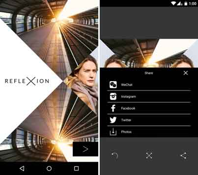 reflexion-camera-app