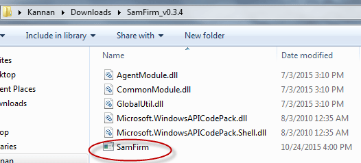 how-to-use-samfirm-tool