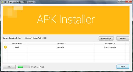 fastboot-driver-installer