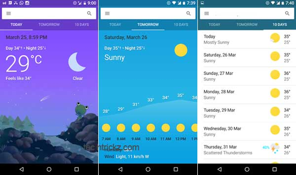 Google-Now-Weather-Card-Widget