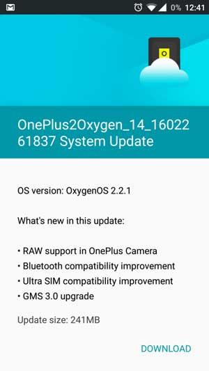 oneplus-2-oxygenos-2.2.1-update