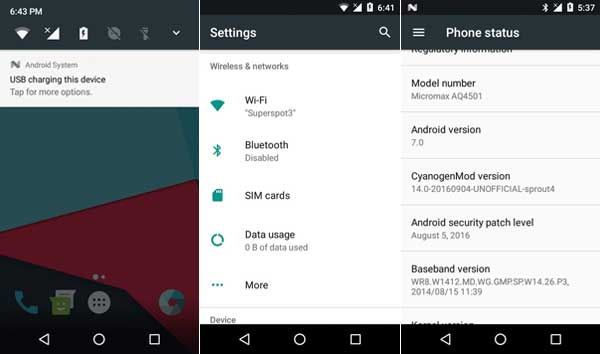 Cyanogenmod-14-for-Android-One