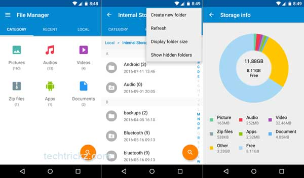 File managers – soft for Motorola Moto G – Free download
