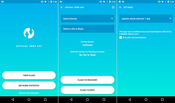 how to download twrp recovery on 6055a