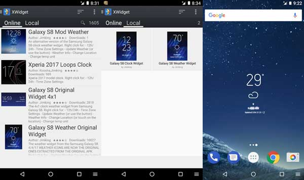 galaxy-s8-weather-and-clock-widget-on-any-phone