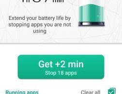 Kaspersky Battery life app