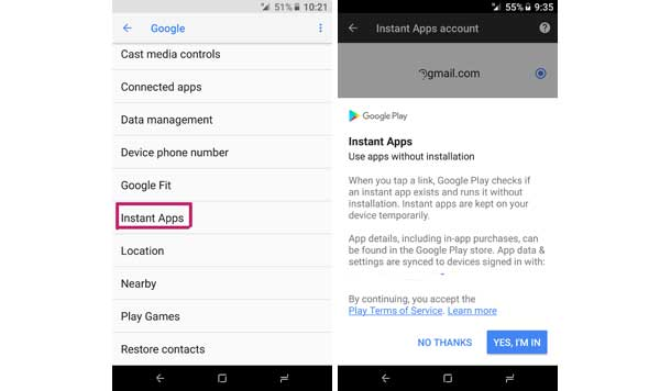 How to Enable Instant Apps on Android & How to Get it