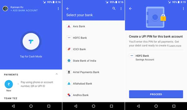 How to Use Google's Mobile Payment App Tez for India