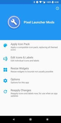 Pixel-launcher-Mods